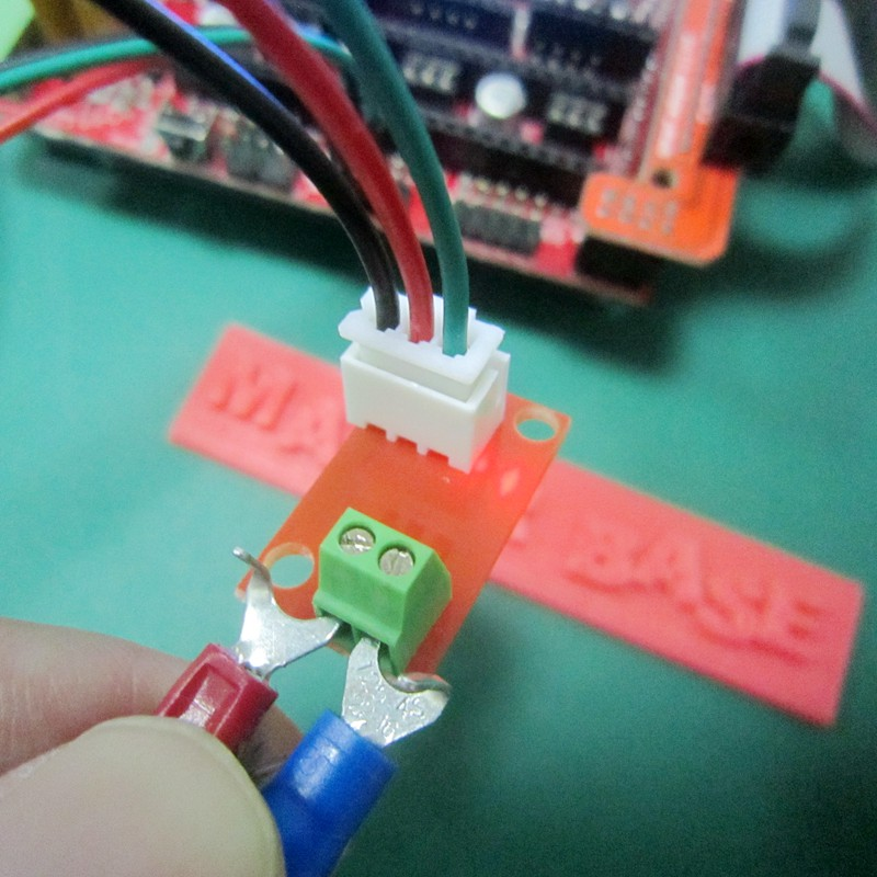for 3D Printer Control Board,with 3PIN Cable K-Type Thermocouple Interface Board,AD597 Temperature Control Plate