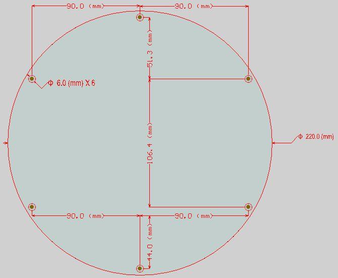 3D printers Delta rostock / round heated bed / MK3 reprap standard ...