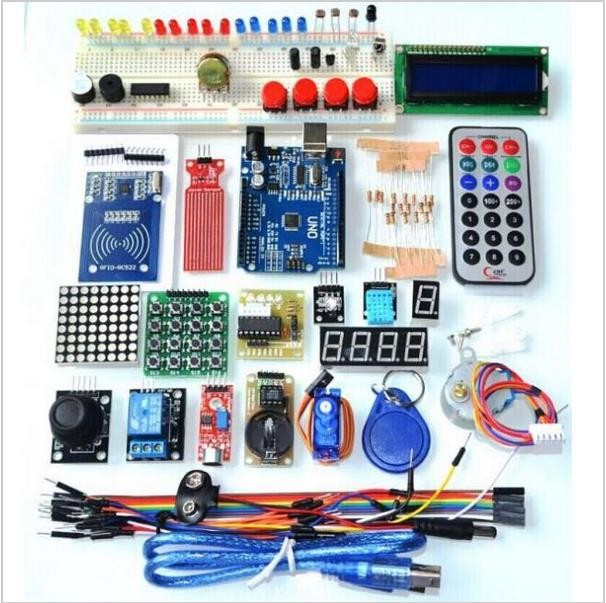 Arduino uno r starter kit dpmav