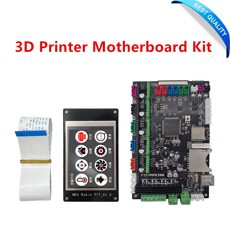 (free shipping for air parcel)MKS Robin STM32 integrated board stm32  development board with touch screen