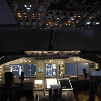 747 cockpit kit